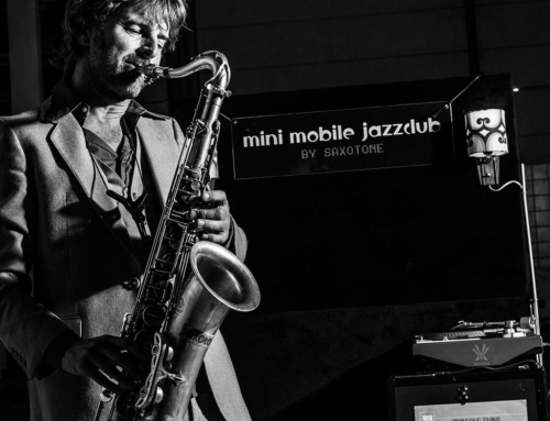 The Mini Mobile Jazzclub is een hit!